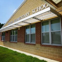 Avalon Elementary School Building with Sunshade Canpoy