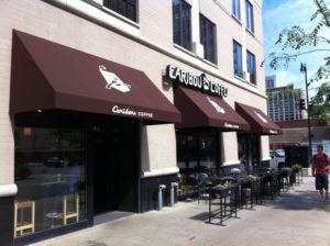 Caribou Coffee Canopy Project in Chicagoland
