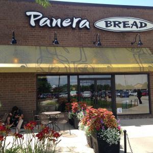 Panera Bread Canvas Awning Canopy