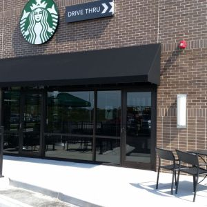 Starbucks Canvas Awning Project