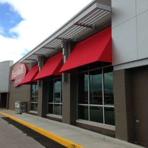 Strack and Van Til Canvas Awning Project