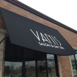 Vanis Salon Day Spa Canvas Awning Project
