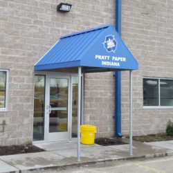 Prat Paper Indiana Metal Canopy