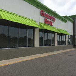 Guaranty Bank Metal Awning Canopy