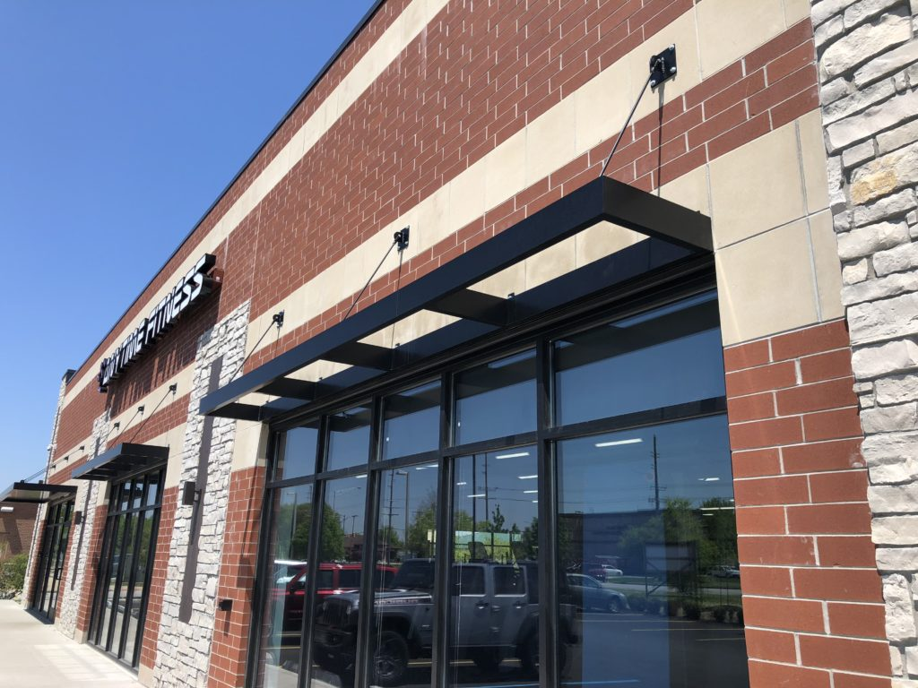 Flat Trellas Canopy Anytime Fitness