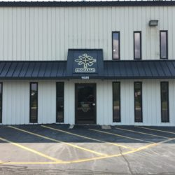 Standing Seam Metal Awning Project for Paratech