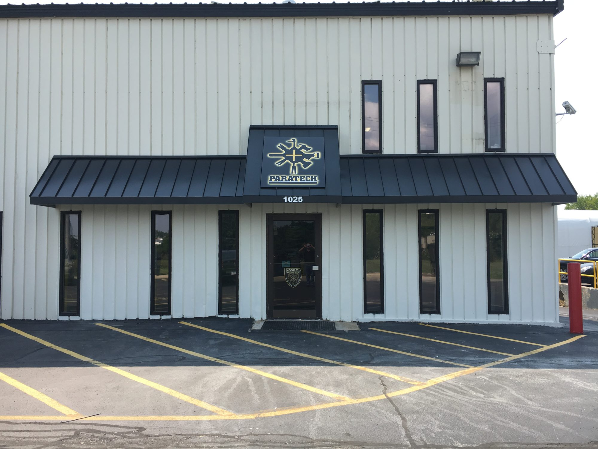 Standing Seam Metal Awnings Paratech Frankfort IL
