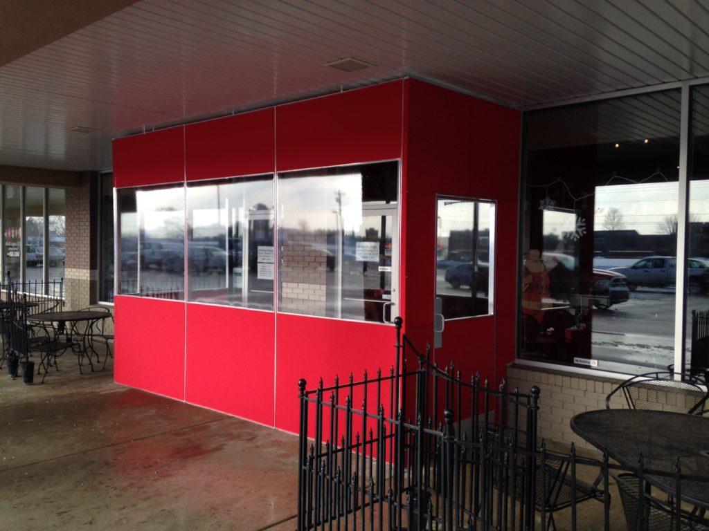 Canvas Vestibules and Enclosures Increase Revenue and Decrease Heating Costs
