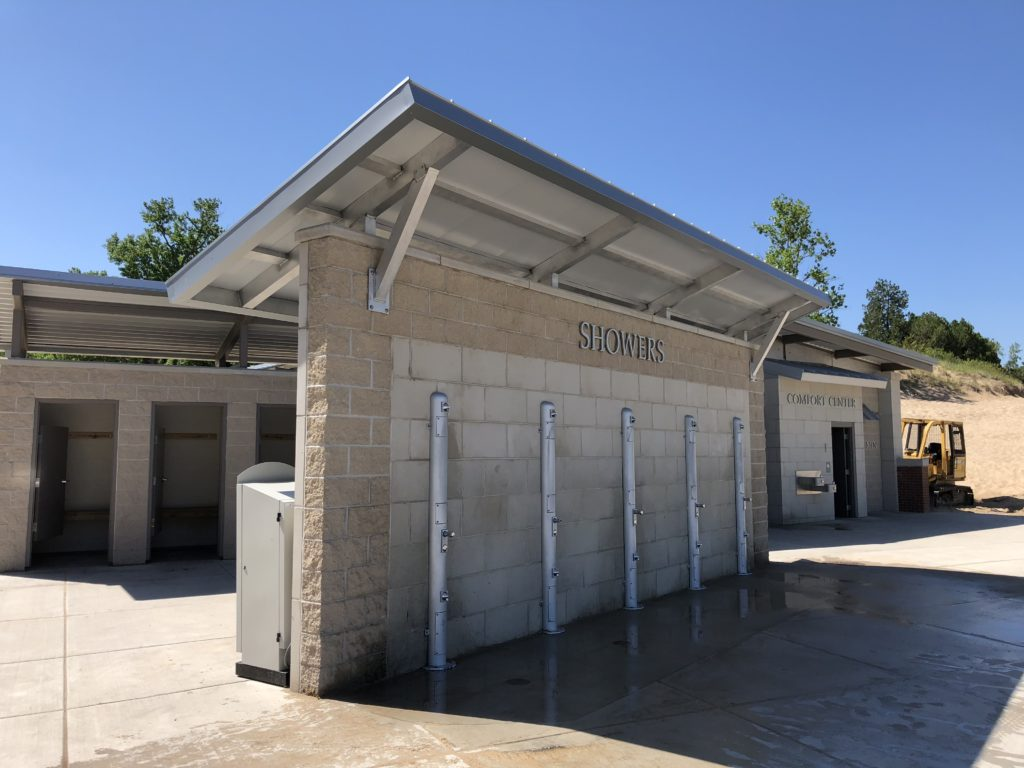Standing Seam Metal Canopy at Indiana Dunes State Park