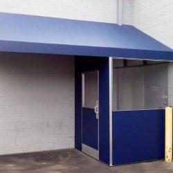 Vinly Fabric Winter Vestibule Enclosure Project
