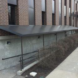 The Crossings Schererville Walkway Canopy Project