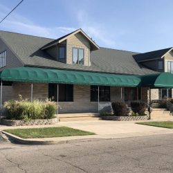 Walkway Cover for Smith Funeral Home in Knox