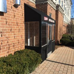 Winter Vestibule Enclosure, Coaches Sports Bar Restaurant in Chicago, IL